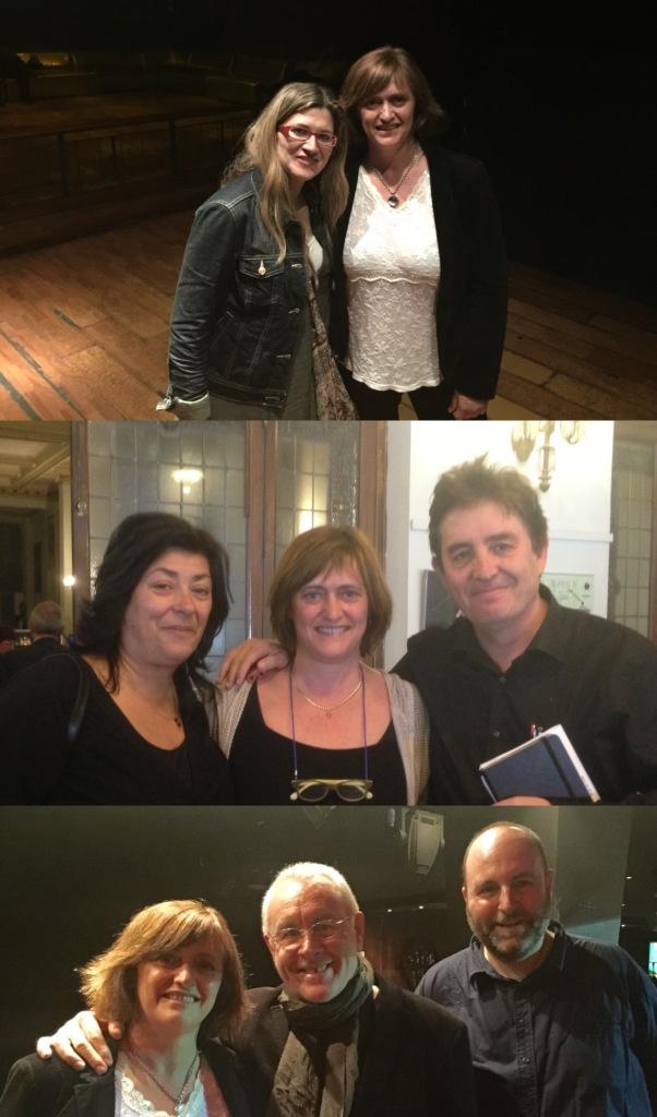 Raquel López, Almudena Grandes, Luis García Montero, Cayo Lara
